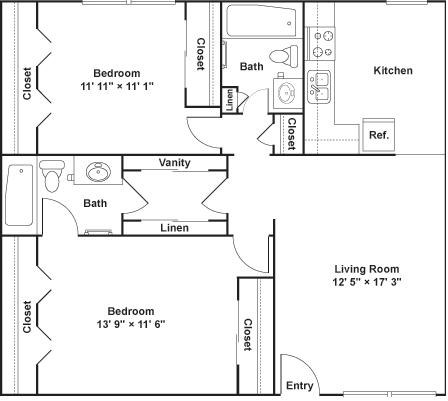 2 Bedrooms 2 Bathrooms Apartment for rent at Luna Blanca {Casa Feliz} in Dallas, TX