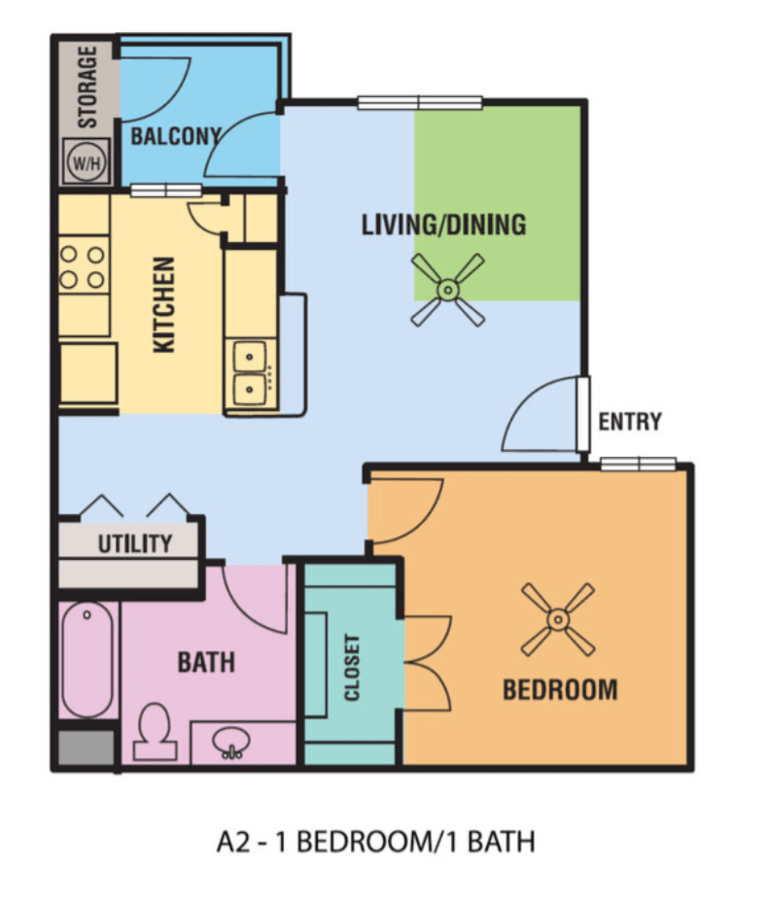 1 Bedroom 1 Bathroom Apartment for rent at Alsbury Farms in San Antonio, TX